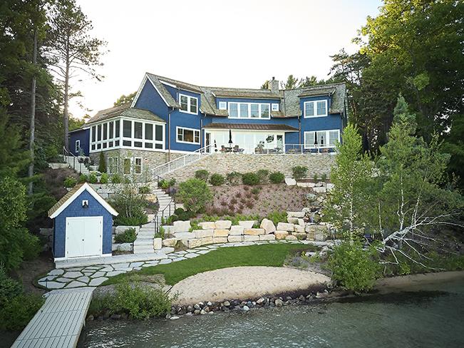 beautiful modern mansion